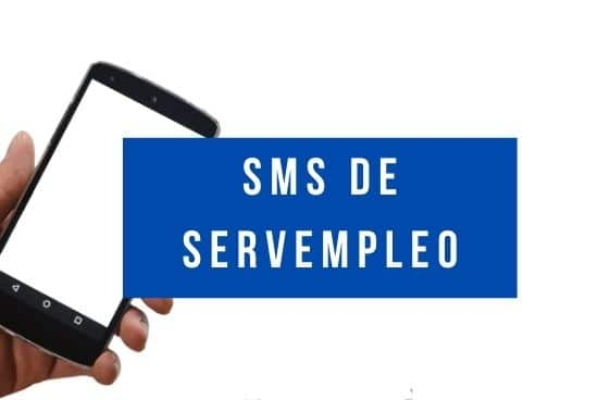 sms servempleo