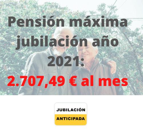 pension maxima de jubilacion