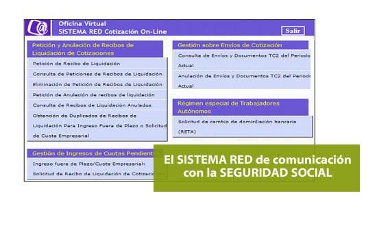 sistema RED
